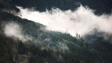 Alpiner Nebel 4 von Bart Rondeel