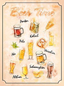 bier van Printed Artings