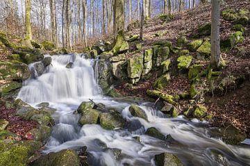 Kleiner Wasserfall am Buchenbach von Jürgen Schmittdiel Photography