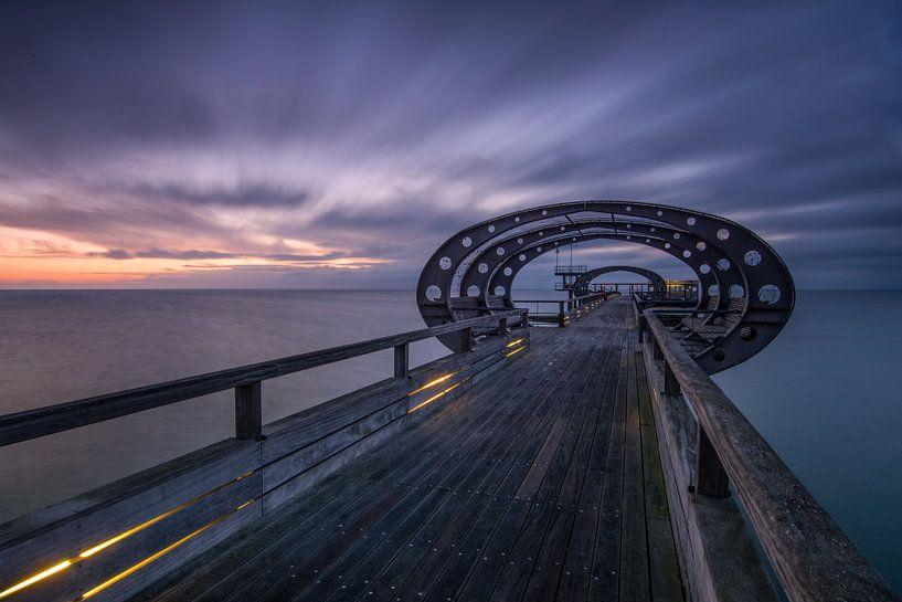 Seebrücke Kellenhusen von Sebastian Holtz