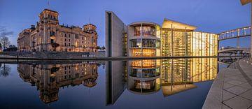 Regierungsviertel Berlin von Achim Thomae