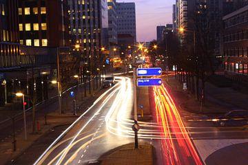 De Derkinderenstraat in Amsterdam Nieuw-West / oprit S106 van de ringweg A10 van Philip Nijman