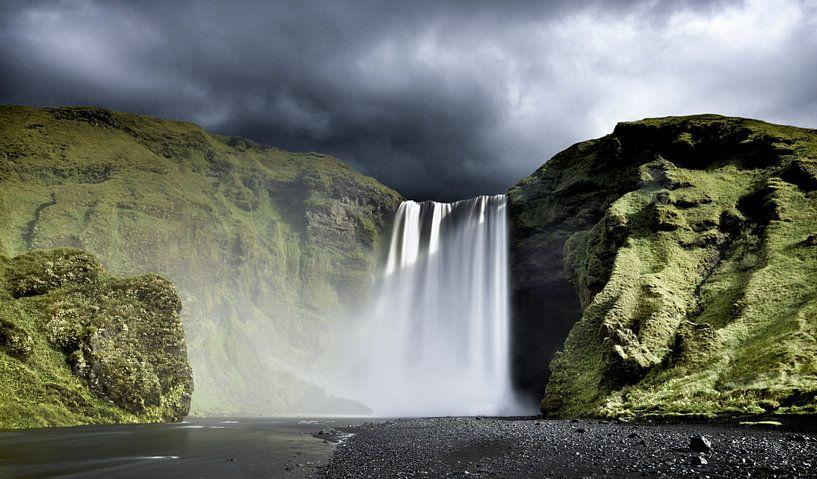 IJsland waterval van Sjoerd van der Wal