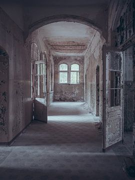 Verlaten plekken: donkere gang von Olaf Kramer