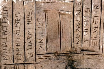 Denkmal am Berg Nebo von Gert-Jan Siesling