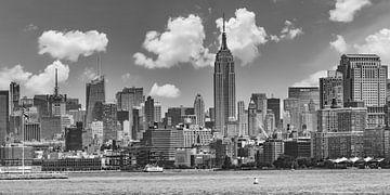 MIDTOWN MANHATTAN | Monochrom von Melanie Viola