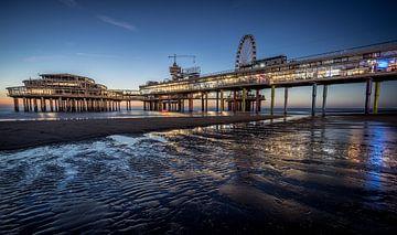 De Pier in Scheveningen (Den Haag). van Claudio Duarte