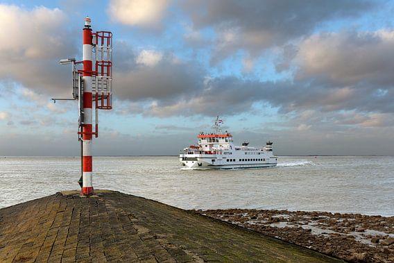 Groningen / Het havenhoofd van de Waddenzeehaven in Lauwersoog / 2014
