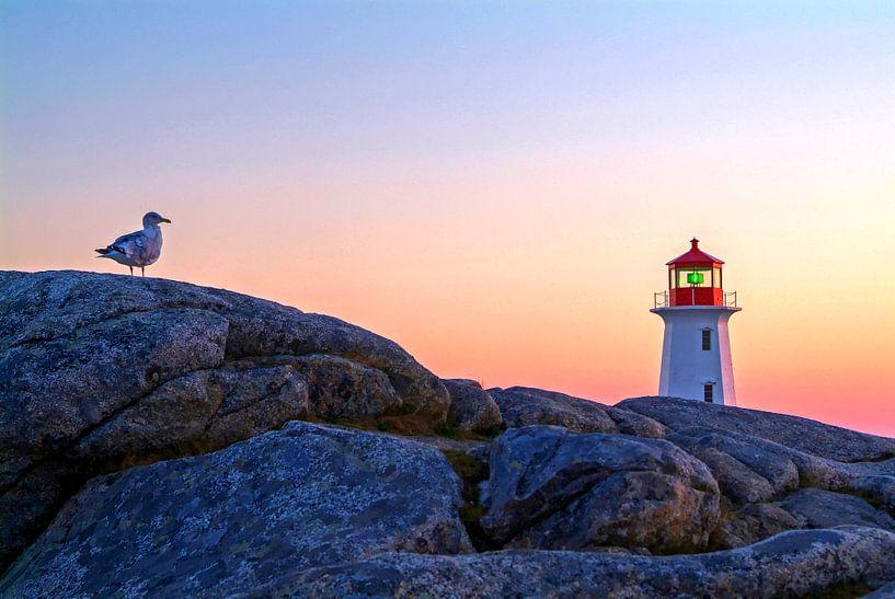 Peggys Cove, Nova Scotia, Kanada van Hans-Peter Merten