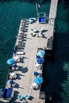 pier in italie van Eric van Nieuwland