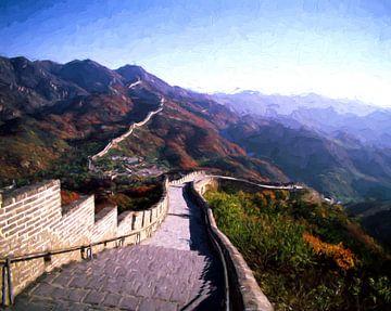 De Chinese Muur van Patrick Hoenderkamp