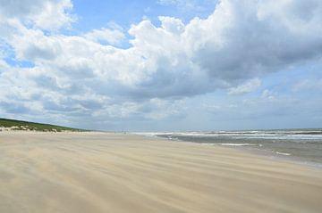Uitwaaien op het Strand von Marcel van Duinen