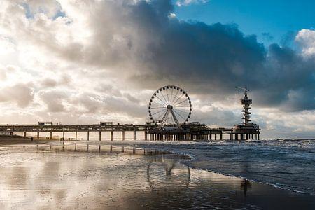 De Pier in Scheveningen van Marco Nedermeijer