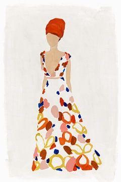 Floral Fashion III, Isabelle Z  van PI Creative Art