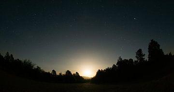 Moon and stars van Meneer Bos
