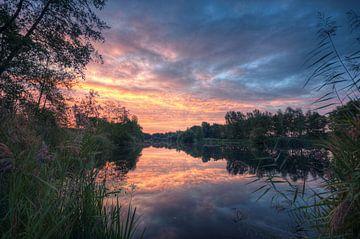 Landschap - Goedemorgen van Angelique Brunas