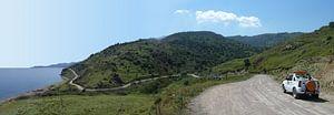 Lesbos - kustweg van Carla Odink