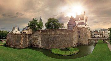 Kasteel Château des ducs de Bretagne in Nantes van