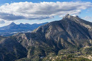 Ausblick auf Bernia und den Puig Campana