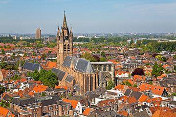 Delft Oude Jan / Oude Kerk von Anton de Zeeuw