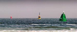 Meerenge mit Bojen