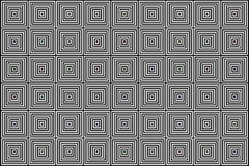 Nested | Center | 09x06 | N=08 | Random #01 | RGBY van Gerhard Haberern