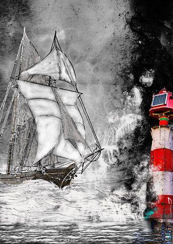 Sailing home van Harry Stok