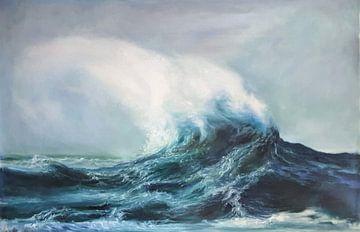Ocean wind van KB Prints
