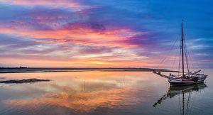 Haven van Sil Texel Neerlandia wacht op hoog water von