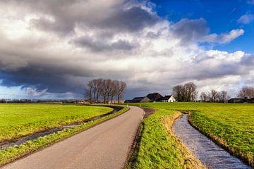 La route de Dorkwerd sur Evert Jan Luchies