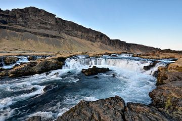 IJsland - Waterval van Martin Jansen