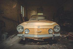 Oude Gele Auto