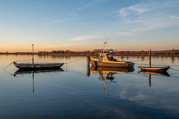 Veerbootje bij Eck en Wiel van