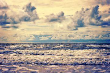 stormachtige zee van Angela Dölling