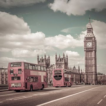 Typisch Londense vintage stijl. van Melanie Viola