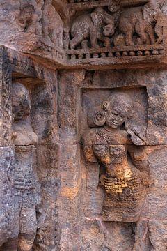 Fragment uit Zonnetempel van Konarak (India)