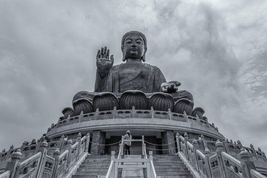 Hong Kong - Tian Tan Buddha - 1 van Tux Photography
