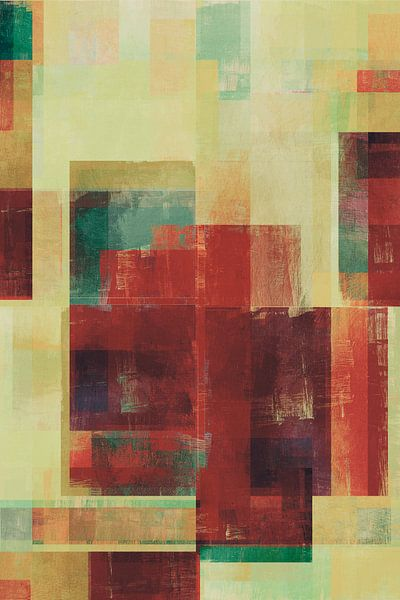 Abstract Geometry No. 21 van Pascal Deckarm