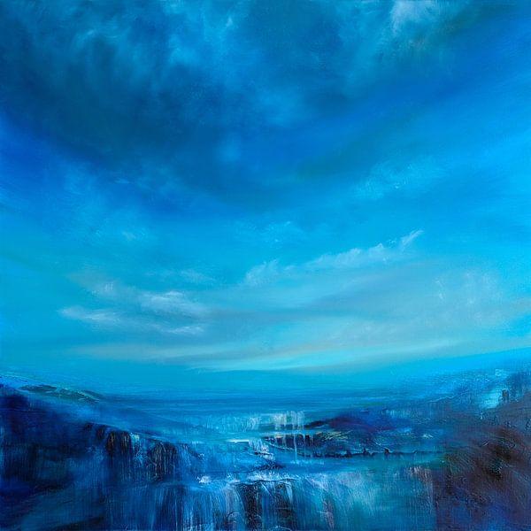 Blauwe breedte van Annette Schmucker