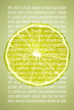 Fruities in kleur Limoen sur Sharon Harthoorn