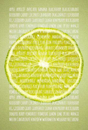 Fruities in kleur Limoen