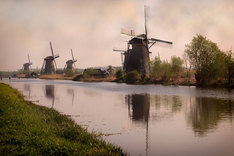 Mills at Kinderdijk von Tim Abeln