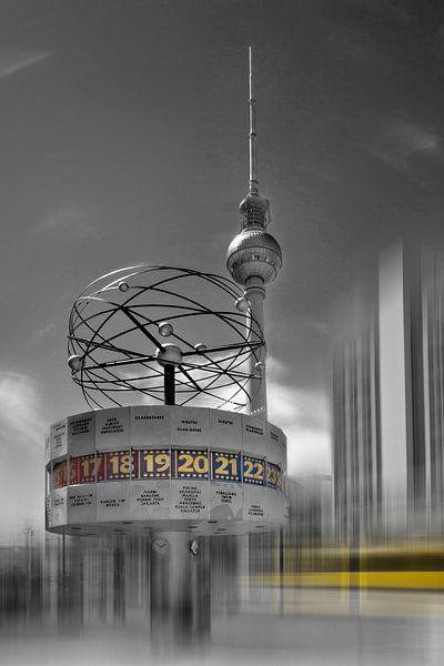 Dynamic-Art BERLIN Alexanderplatz van Melanie Viola