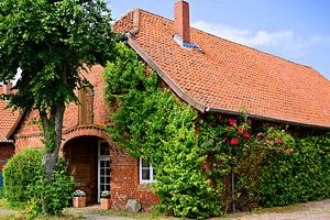Picturesque Red Brick House in Lower Saxony