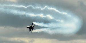 F16 demonstratie  van