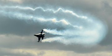 F16 démonstration sur Roel Ovinge