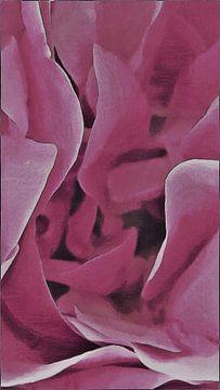 Leonardo da Vinci Rosenblütenhöhle - Gemälde von Schildersatelier van der Ven