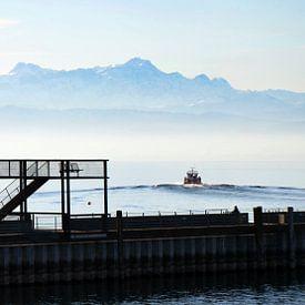 Bodensee morgens von aRi F. Huber