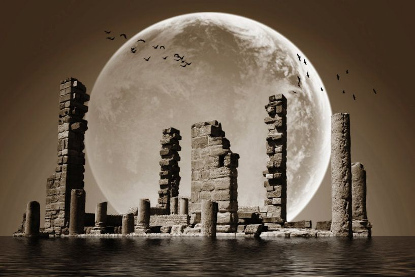 My dreamy ancient planet van Yvonne Smits