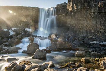 Wasserfall von Marije Zuidweg